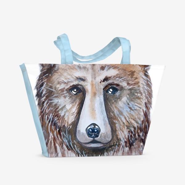 Пляжная сумка «Медведь»