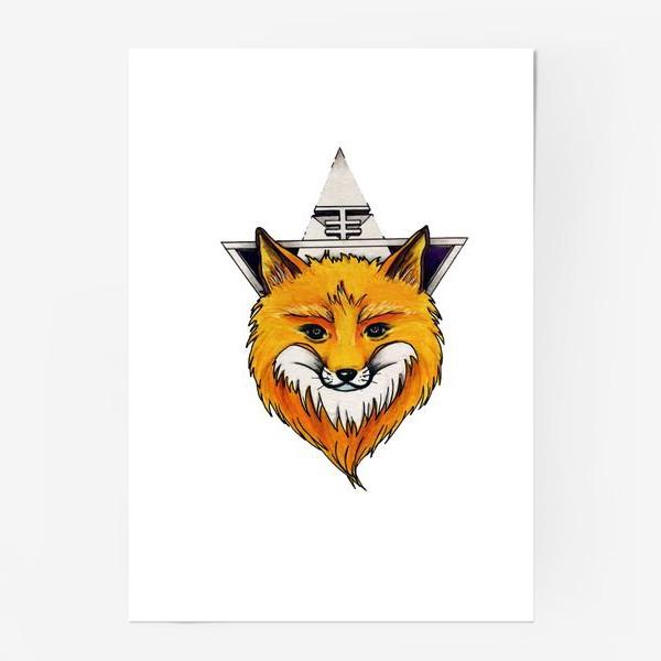 Постер «Лиса»