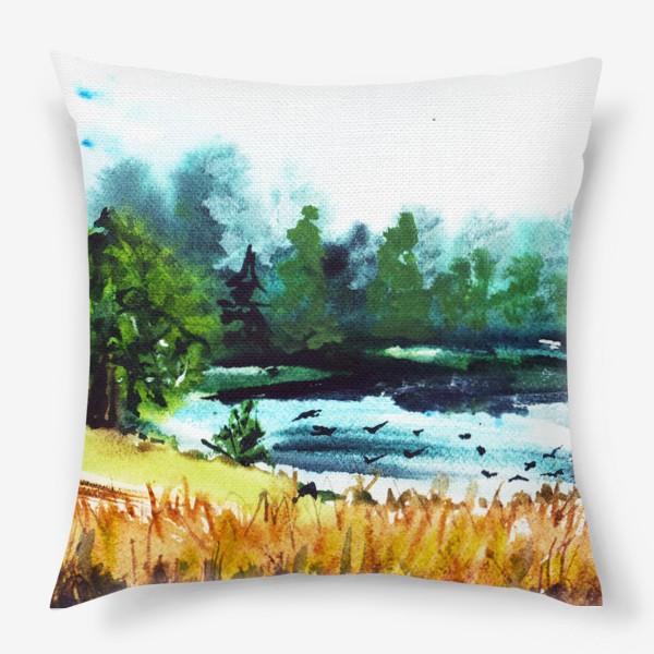 Подушка «Июльская жара»