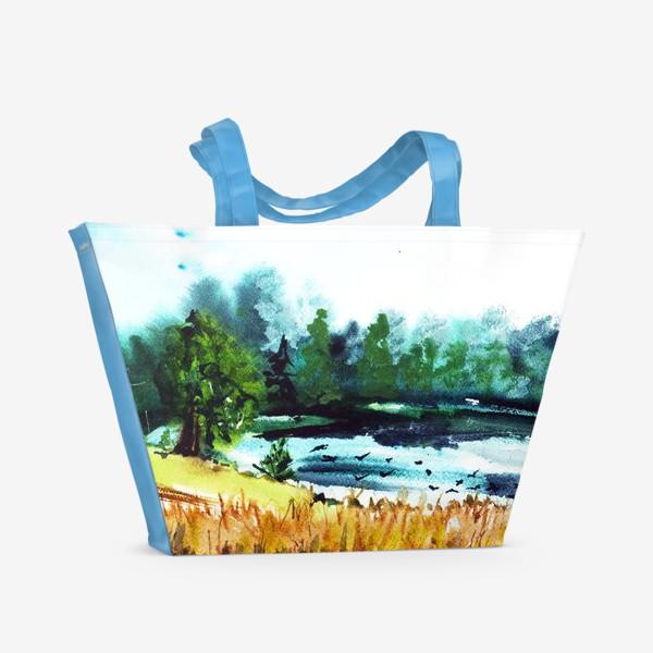 Пляжная сумка «Июльская жара»