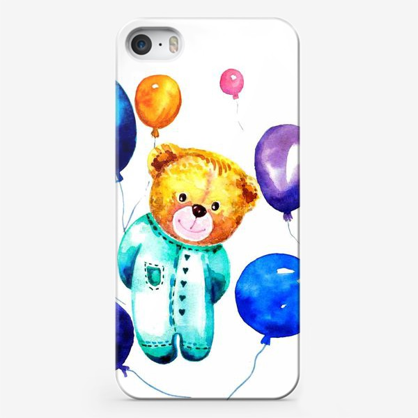 Чехол iPhone «Новорождённый мишка»