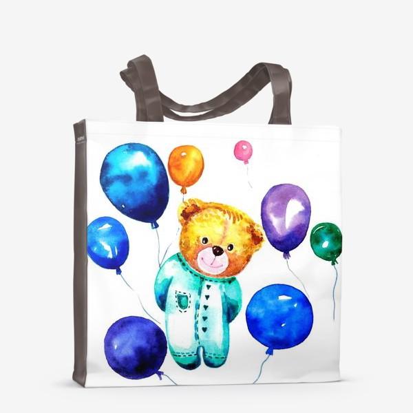 Сумка-шоппер «Новорождённый мишка»
