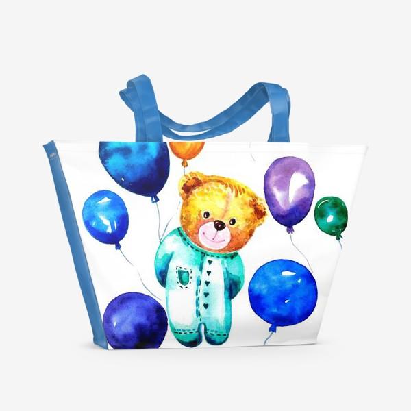 Пляжная сумка «Новорождённый мишка»