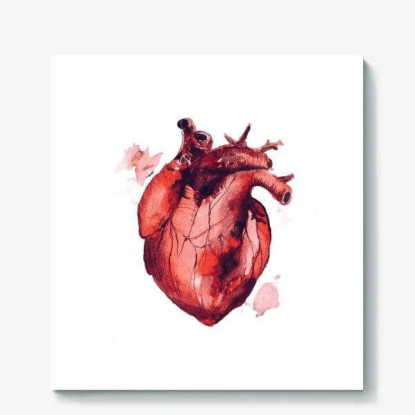 Холст «Сердце»