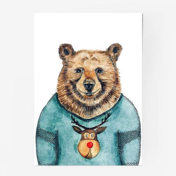 Постер «Медведь»