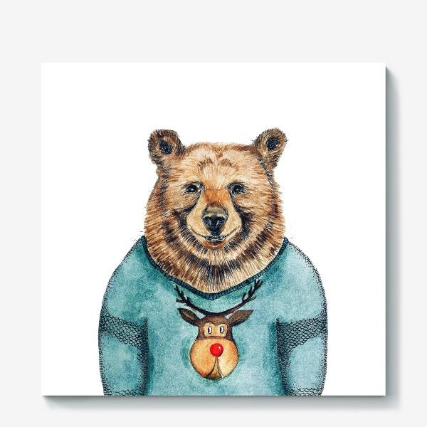 Холст «Медведь»