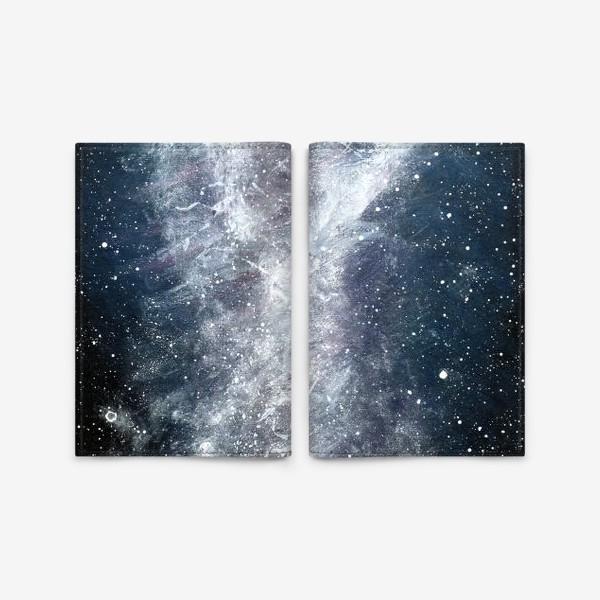 Обложка для паспорта «Космос туманность звезды»