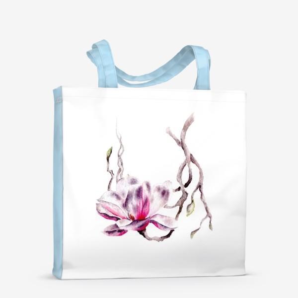 Сумка-шоппер «Цветок магнолия»