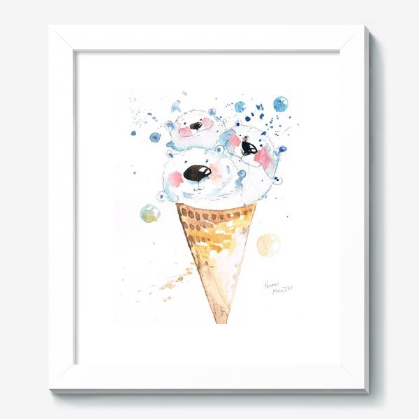 Картина «Вкусные мишки»