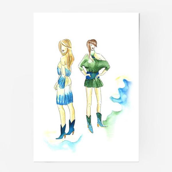 Постер «fashion girls»