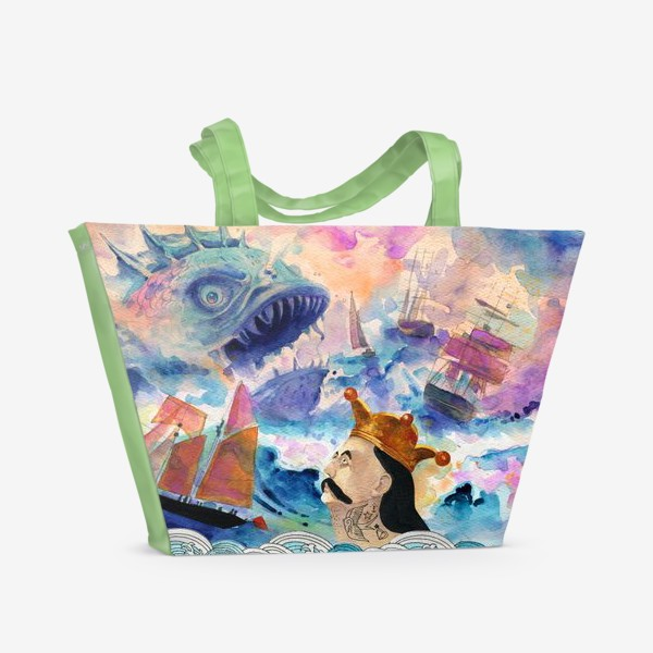 Пляжная сумка «Барон Мюнхгаузен»