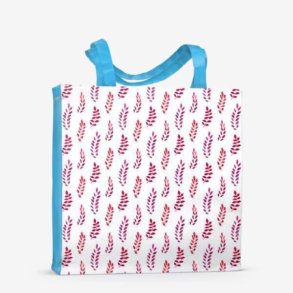 Сумка-шоппер «Красные веточки»