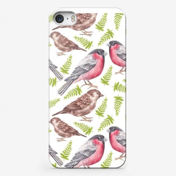 Чехол iPhone «Птички»