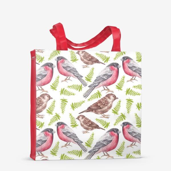 Сумка-шоппер «Птички»