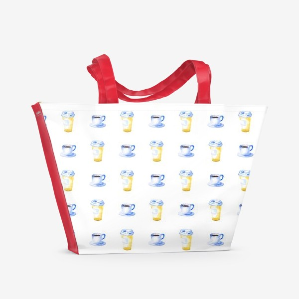 Пляжная сумка «Минутка кофе»