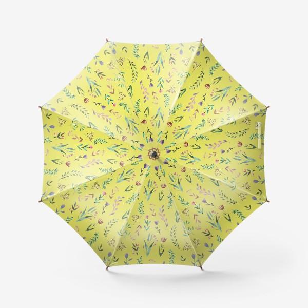 Зонт «Охра цветочная»