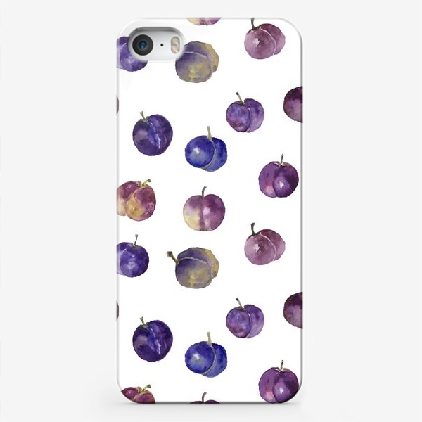 Чехол iPhone «Сочные сливки»