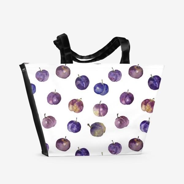 Пляжная сумка «Сочные сливки»