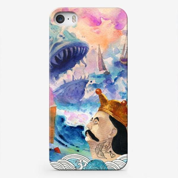 Чехол iPhone «Барон Мюнхгаузен»