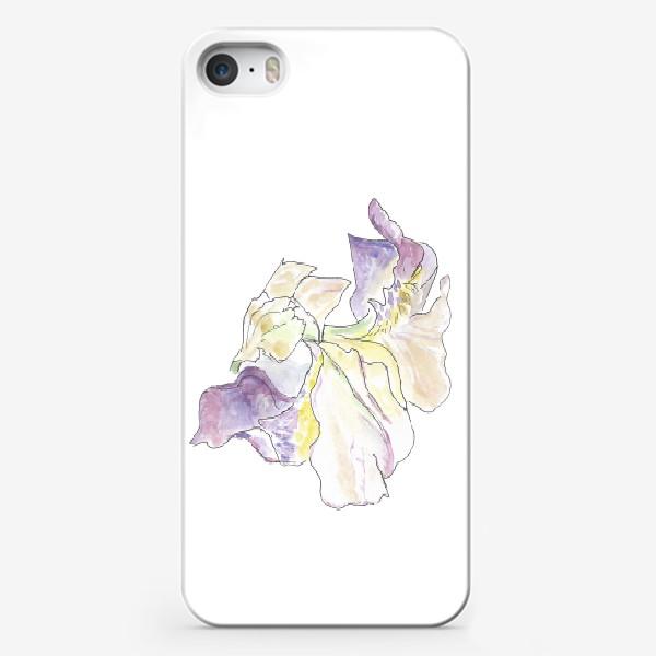 Чехол iPhone «Ирисы. Нежность в каждом изгибе.»
