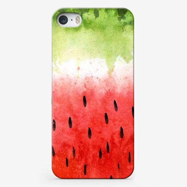 Чехол iPhone «Арбузный принт»