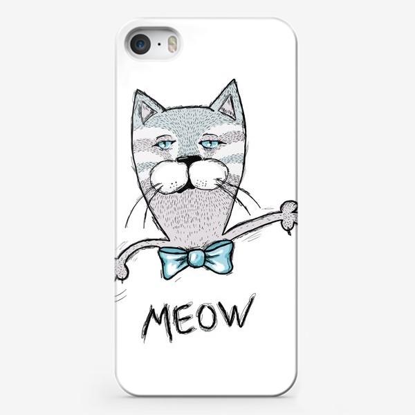 Чехол iPhone «Мяу»