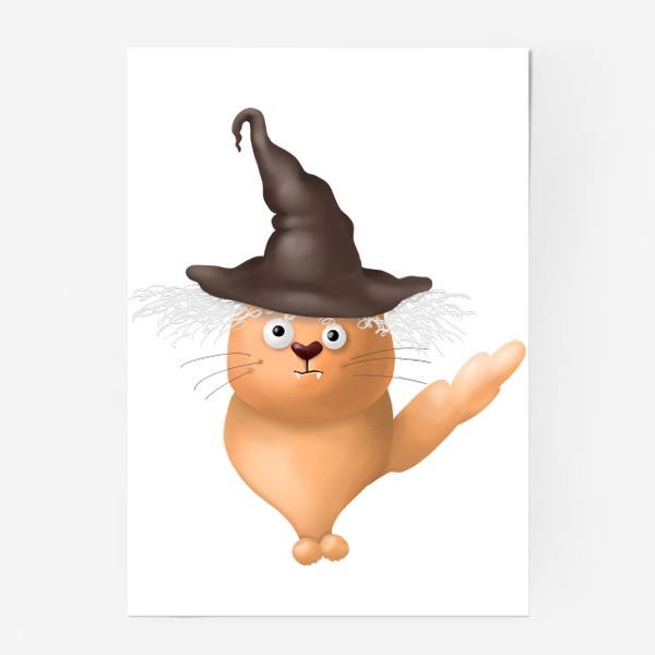 Постер «Кот в шляпе»