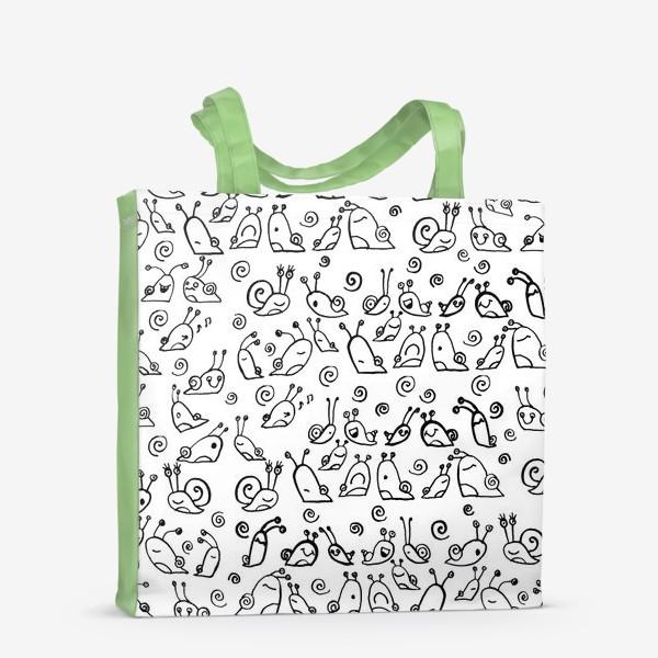 Сумка-шоппер «Snails»