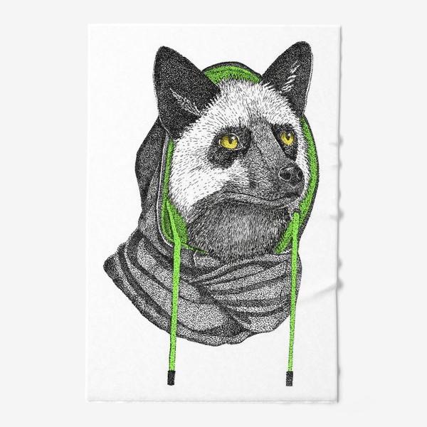Полотенце «Лисичка чернобурка в капюшоне»