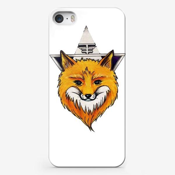 Чехол iPhone «Лиса»