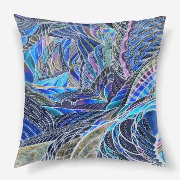 Подушка «Подводные тропики»