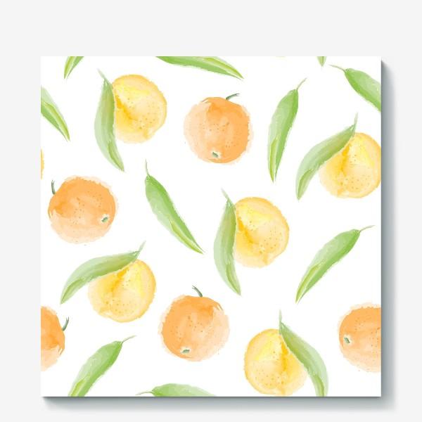 Холст «мандарины»