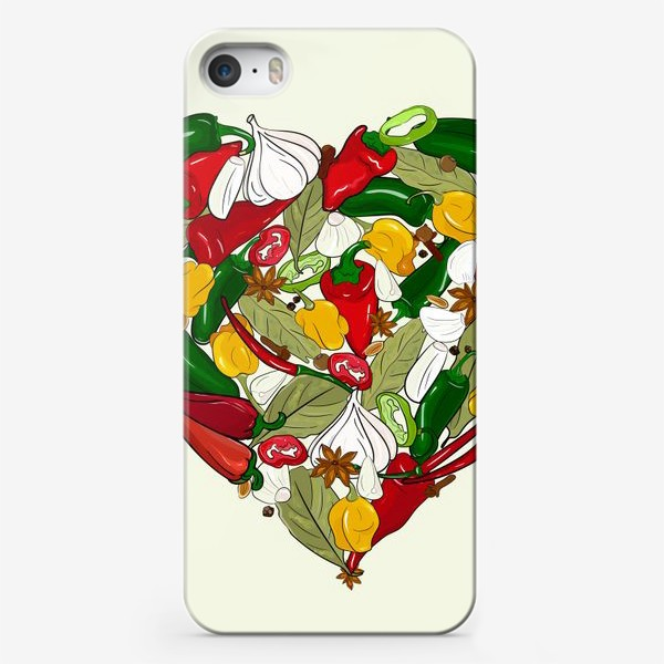 Чехол iPhone «острые перцы»
