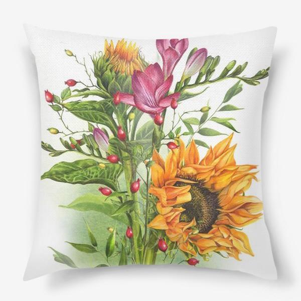 Подушка «Краски лета»