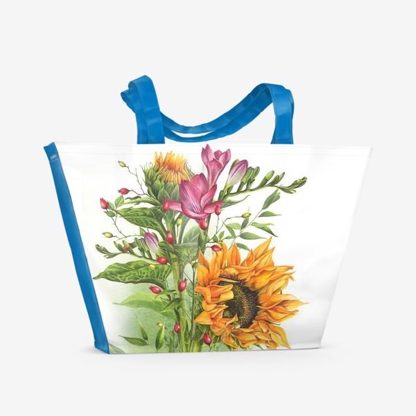 Пляжная сумка «Краски лета»