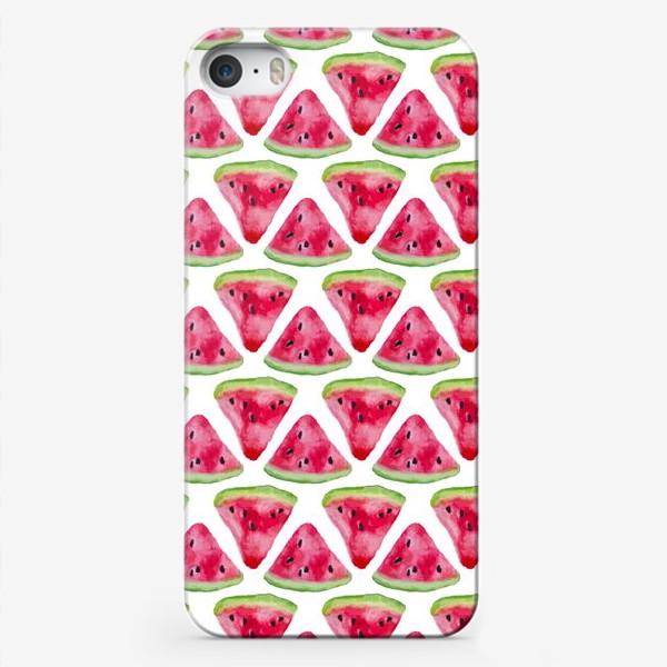 Чехол iPhone «Арбузное настроение»
