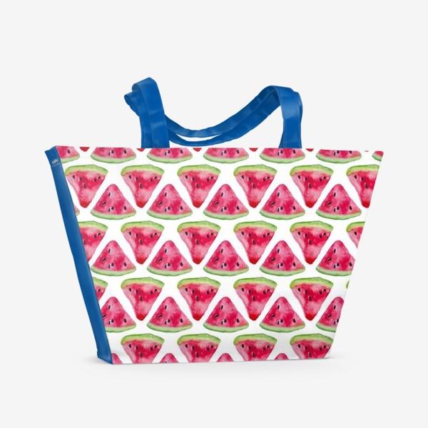 Пляжная сумка «Арбузное настроение»