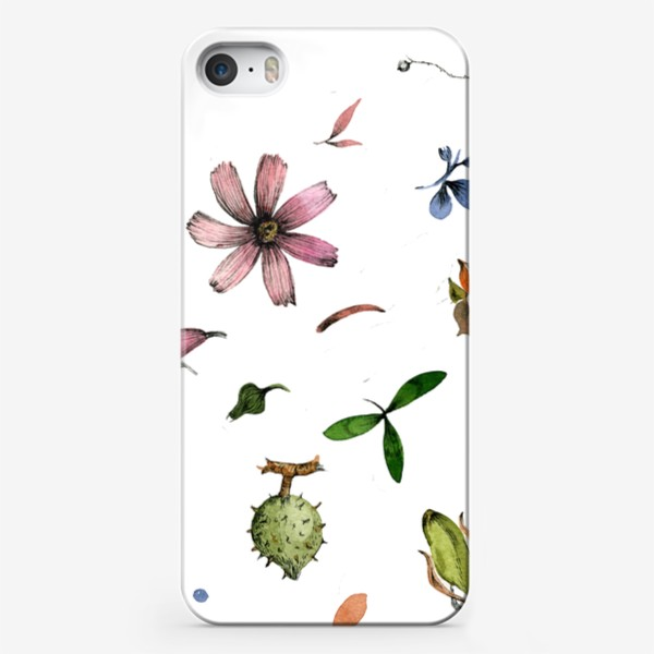 Чехол iPhone «Летний паттерн»