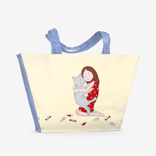 Пляжная сумка «Лучший друг»