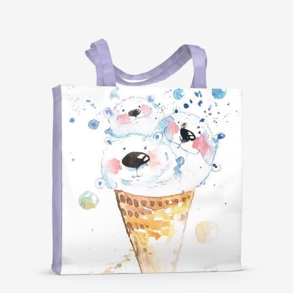 Сумка-шоппер «Вкусные мишки»