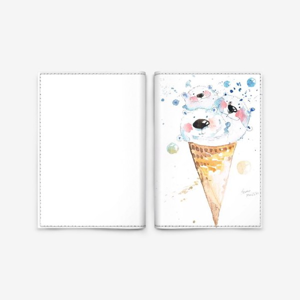Обложка для паспорта «Вкусные мишки»