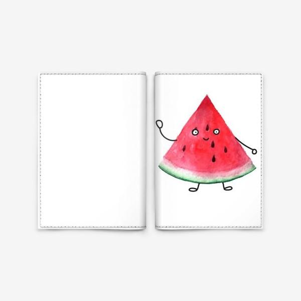Обложка для паспорта «Арбузик. Супер дружественный Арбуз»