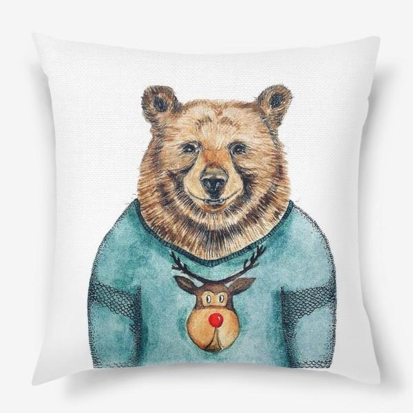 Подушка «Медведь»