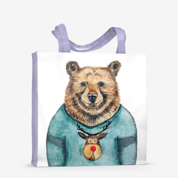 Сумка-шоппер «Медведь»