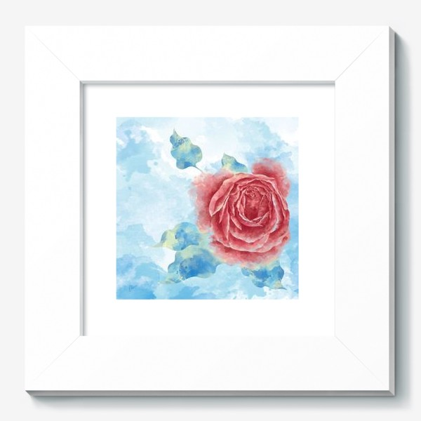 Картина «Морозная Роза»
