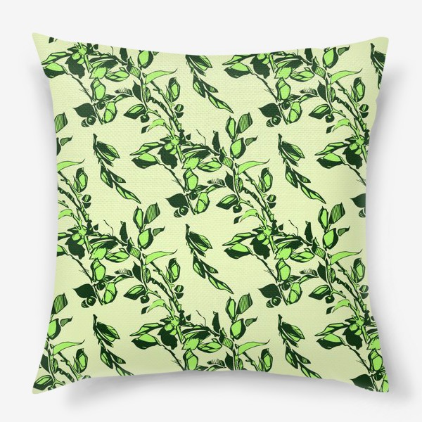 Подушка «Яблоня в цвету»