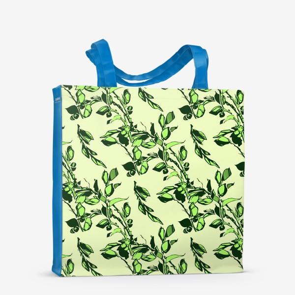 Сумка-шоппер «Яблоня в цвету»