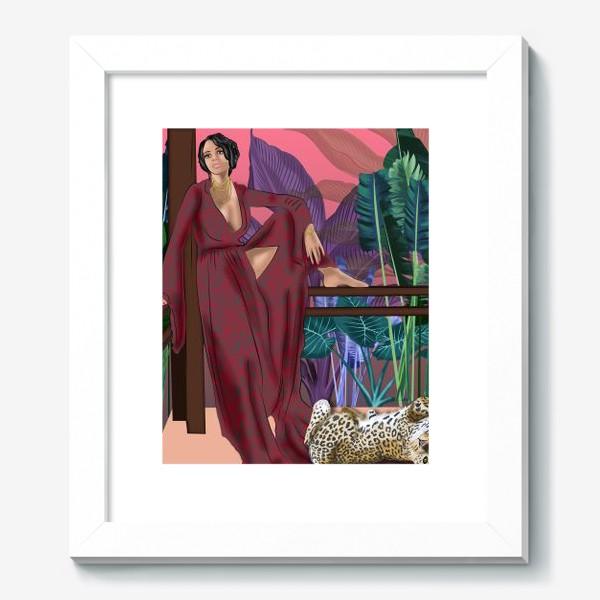 Картина «Креолка с ягуаром »