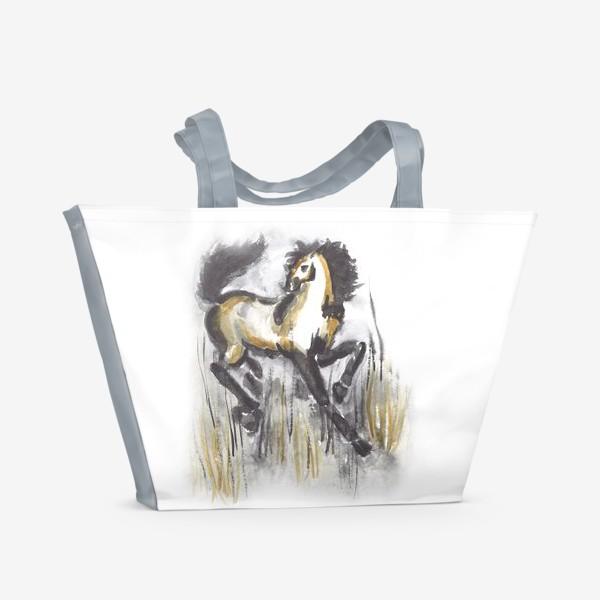 Пляжная сумка «лошадь»