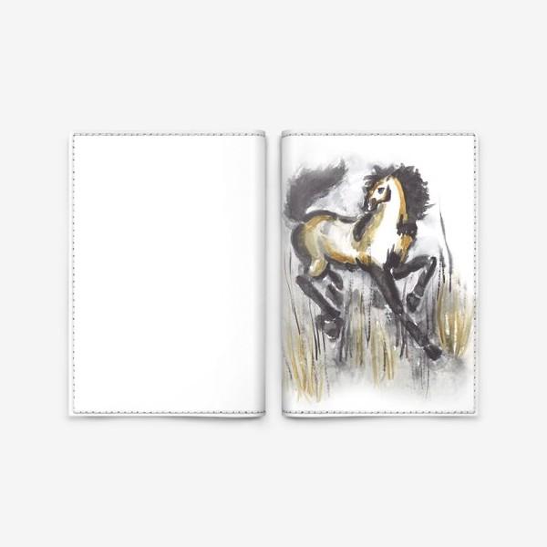 Обложка для паспорта «лошадь»